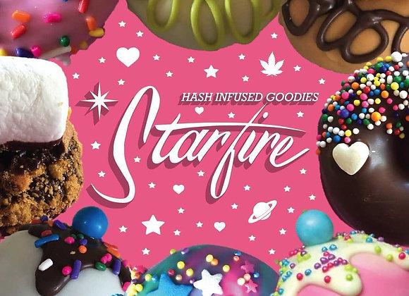Star Fire - (Dr.ladybug) Edible Donut - Vegan Chocolate Almond Coconut (150mg)