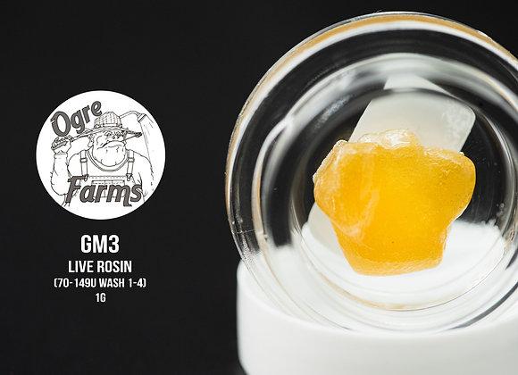 Ogre Farms - GM3 70-149u 1st-4th Live Rosin