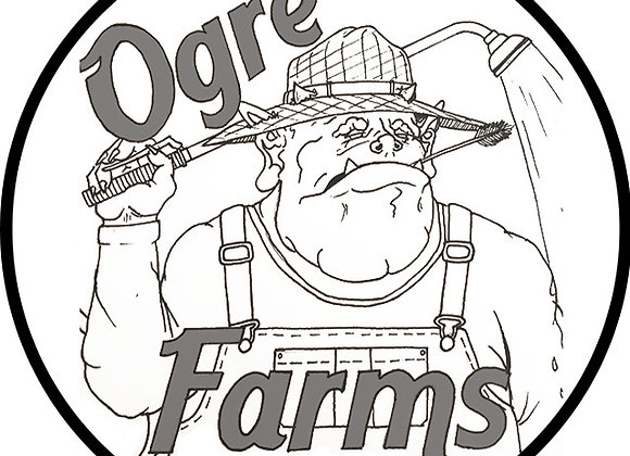 Ogre Farms - Gmo 40-219u (2g)1st-4th Live Rosin With LaughingShaman