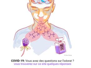 COVID-19 : Vous avez des questions sur l'odorat ?