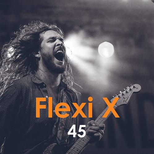 Flexi X 45 (Abstreichkarte Einzel)