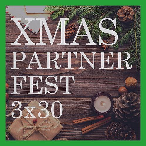 XMAS-Karte Partner 3x30min Fest