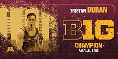 Tristan Duran Alumni of US Gym Mahwah