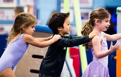 Preschool gymnastics US Gym Mahwah NJ