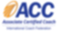 Logo of Associate Certified Coach ICF