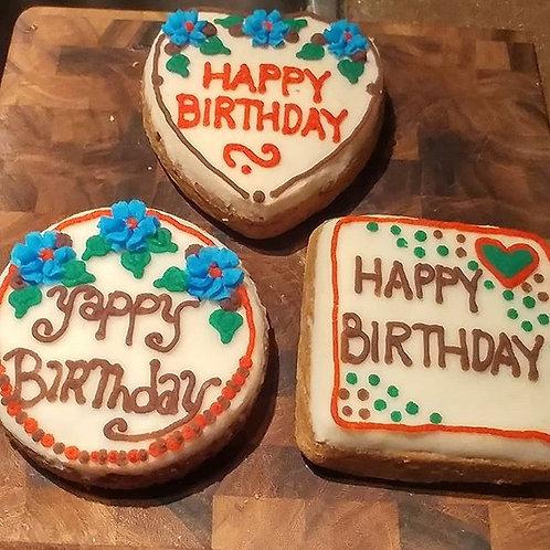 6inch Birthday Cake - Carrot Cake