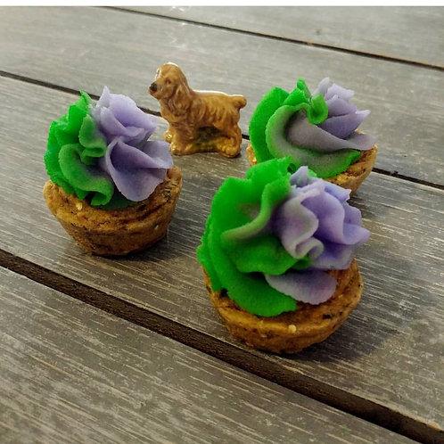 Mini Pupcakes - Peanut Butter & Banana