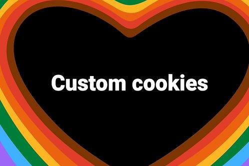Custom Dog Cookies