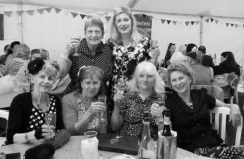 World War Two tea dance Ironbridge Grand Dance