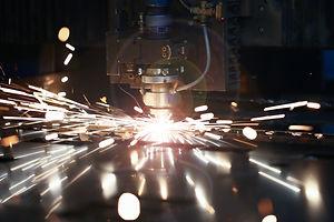 Laser metall cut cnc machine. Fly fire s