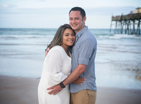 Daytona Beach Shores Engagement