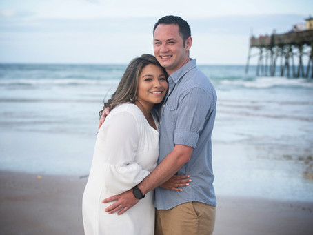 Daytona Beach Shores Engagement