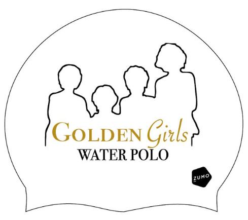Next Level x ZUMO Golden Girls Water Polo Caps