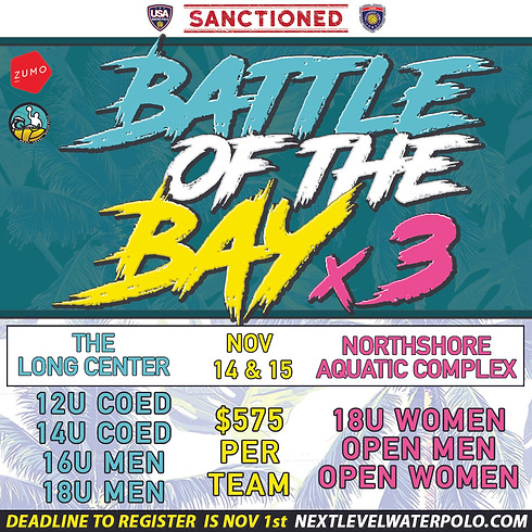 Battle of the Bay x3