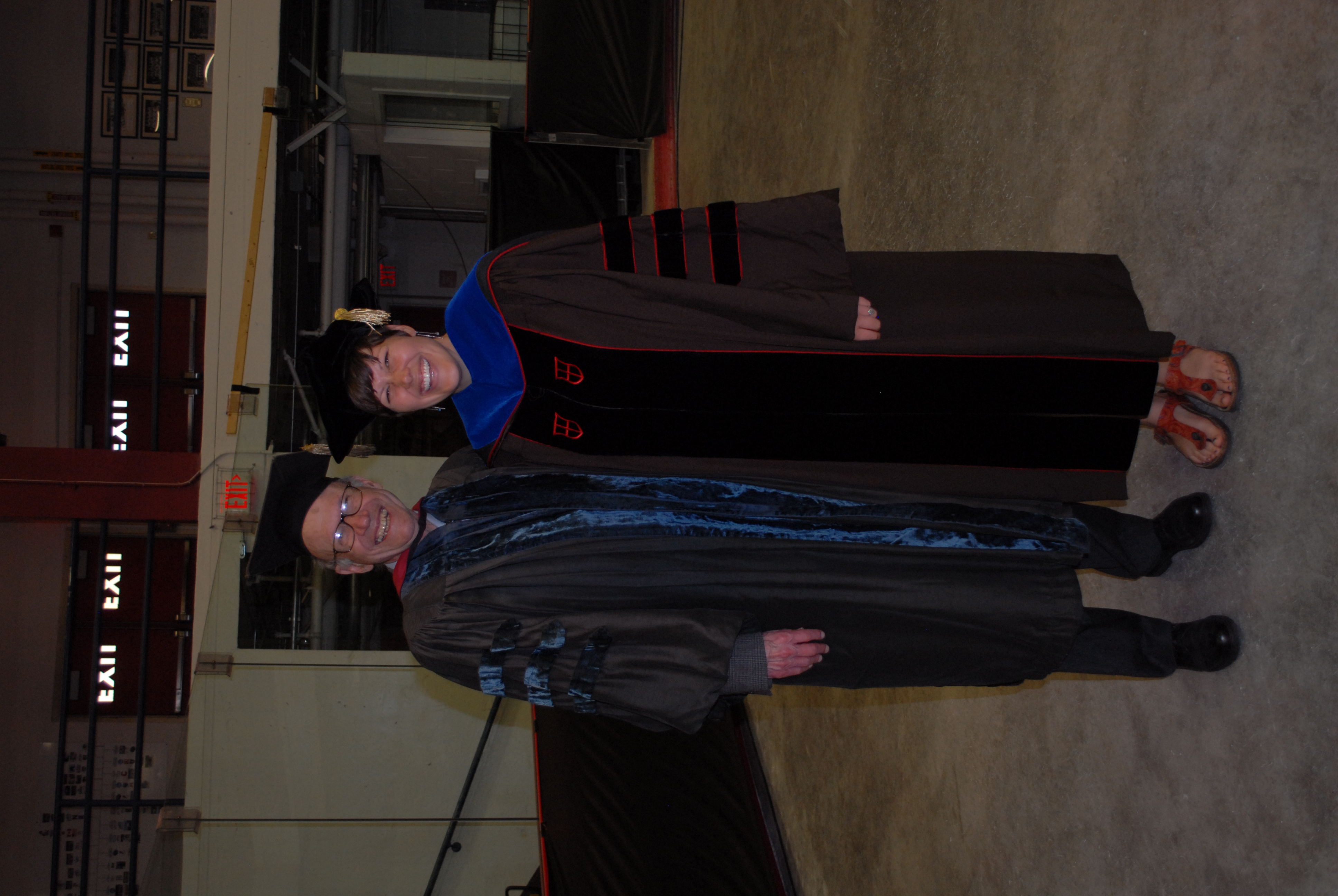 Graduation with Russ Church