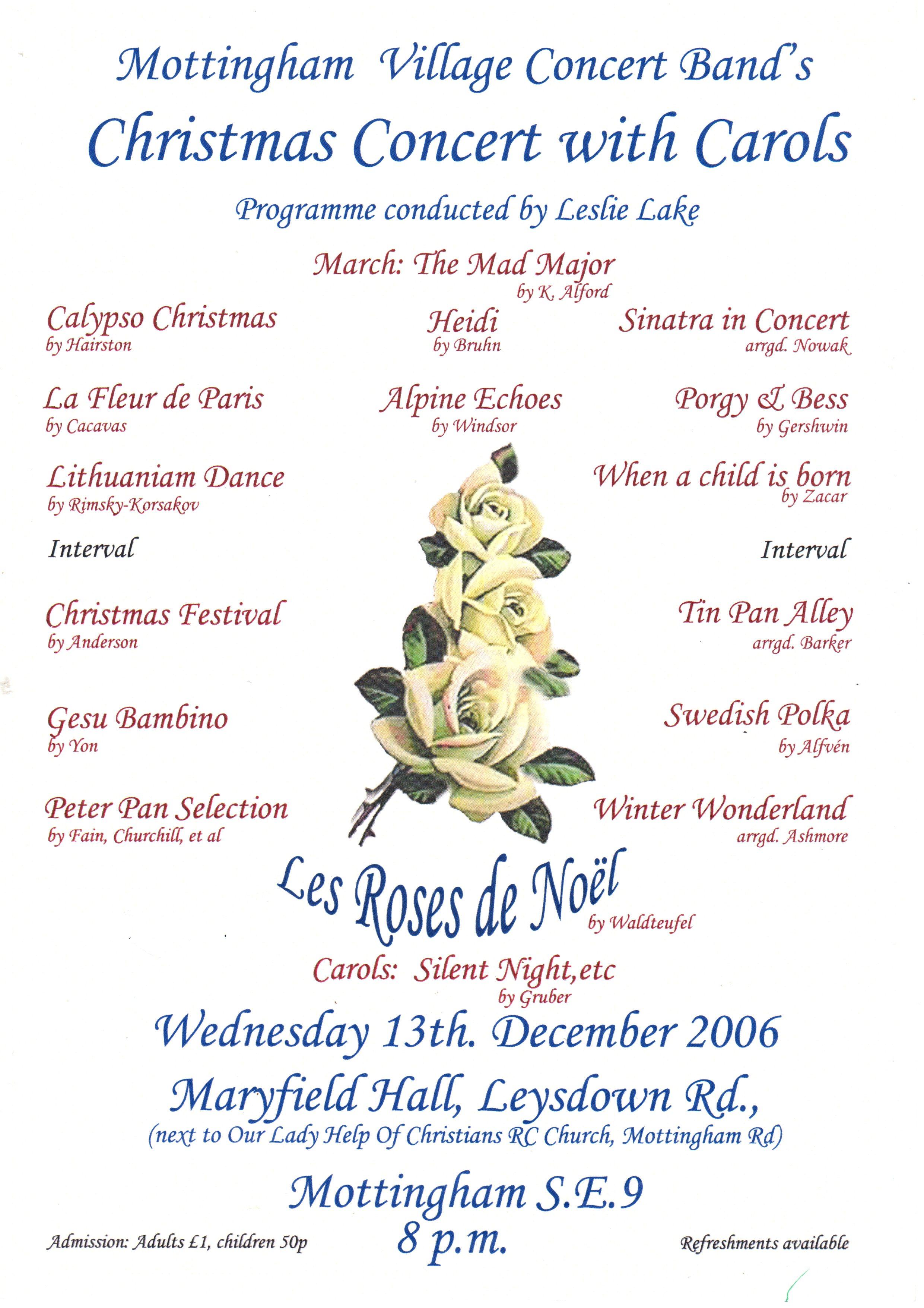 2006 Christmas flier.jpg