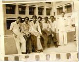 Anand with classmates at, IIM campus, Ahmedabad