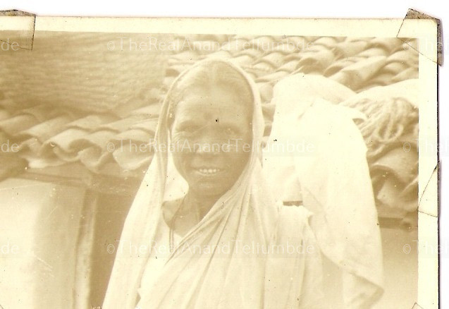 Anand's mother, Anusaya Teltumbde