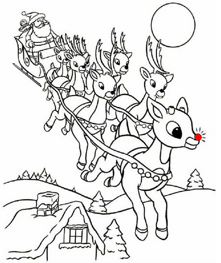 Rudolph and Santa in Sleigh Image.png
