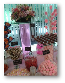 Mesa de dulces para eventos en la Ciudad de Méxicosdcp
