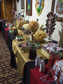 Mesa de dulces para eventos en la Ciudad de México