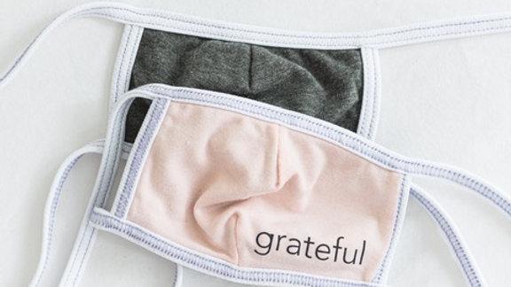 Grateful Non-Medical Grade Masks - Child