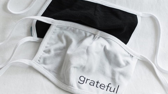Grateful Non-Medical Grade Masks - Adult