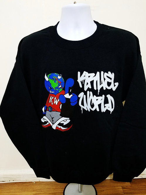 "Kruel World ""Mascot Graffiti"" SweatShirt"