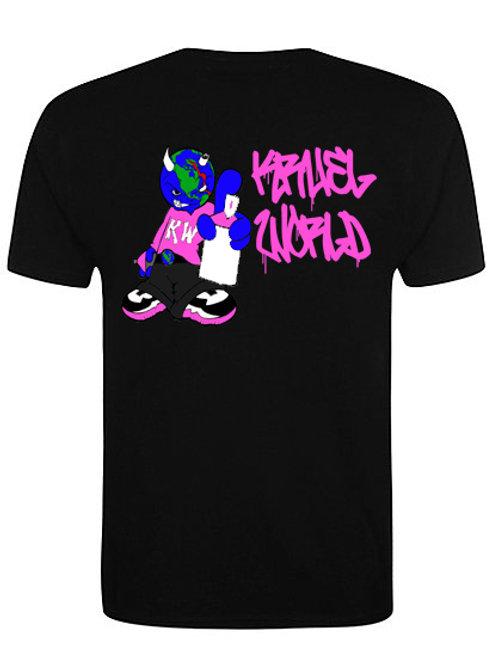 """Kruel World """"Breast Cancer Awareness Pink"""" T Shirt"""