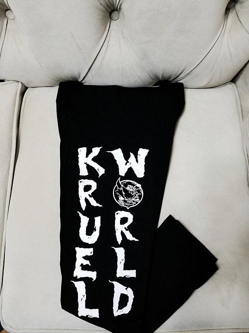 Womens Kruel World Black Leggings