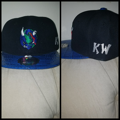 "Kruel World ""Globe"" Snapbacks"