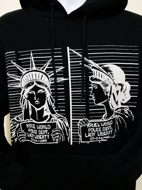 "Kruel World ""Liberty Mug Shot"" Hoodie"