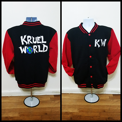 Kruel World Clothing Varisty Jacket