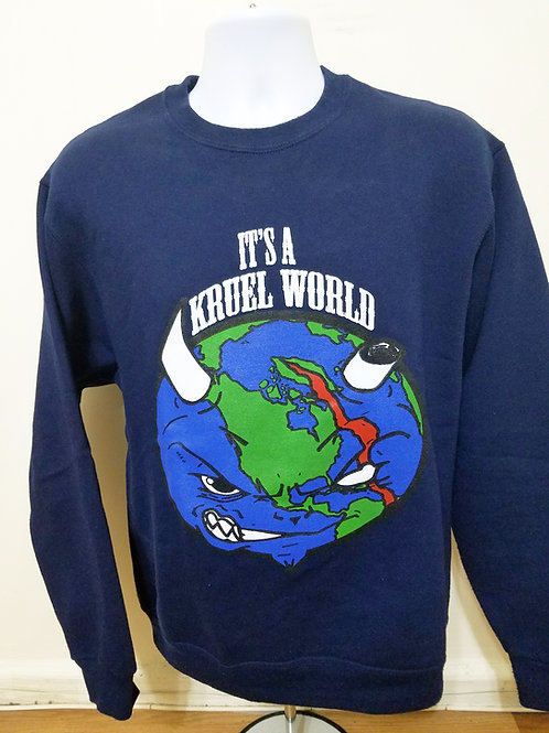 "Kruel World ""Globe"" Sweatshirt"