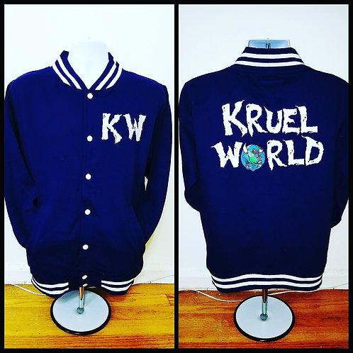 Kruel World Varsity Clothing Jackets
