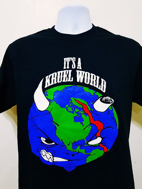"Kruel World ""Globe""T Shirt"