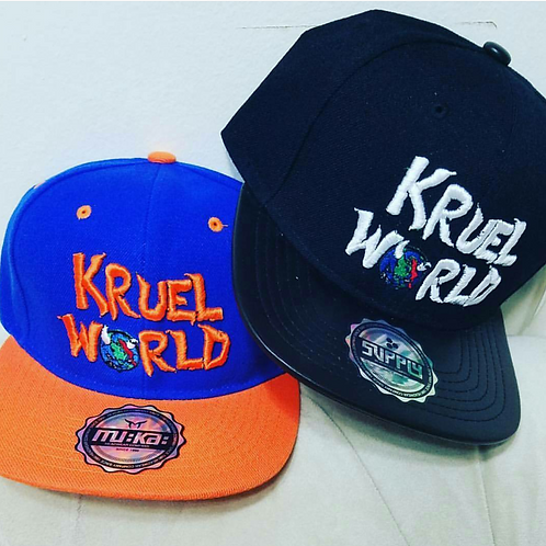 Kruel World Snapbacks