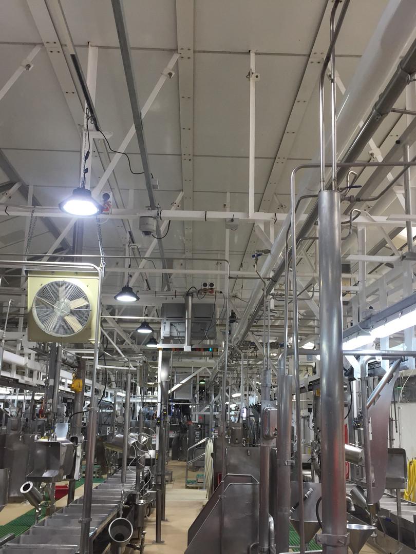 LED Lighting Upgrade for Alliance Group