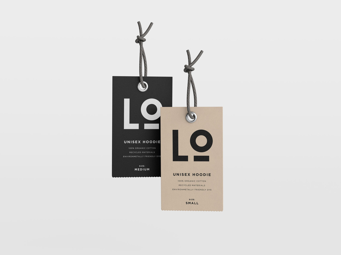 Logo concept for Willow Smith on a clothing tag