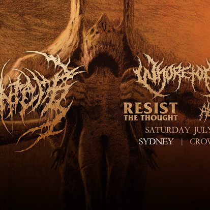 Disentomb X Whoretopsy X Resist The Thought X Alchemy @ Crowbar Sydney [Gig Report]