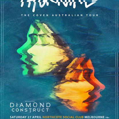 Thornhill Announce Debut Aussie Headline Tour W/ Diamond Construct