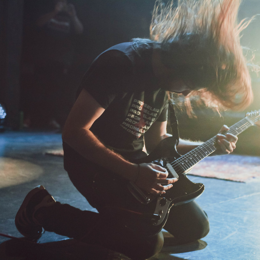 DZ Deathrays (The Enmore) - Andrew Brass