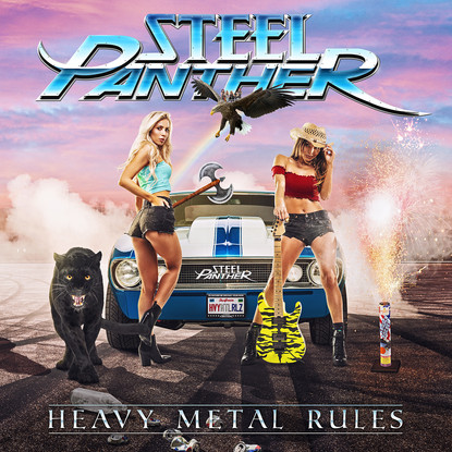 Steel Panther // HEAVY METAL RULES [Album Review]