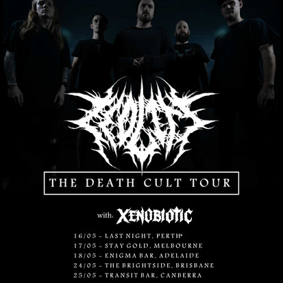 """Zeolite Announce National """"The Death Cult Tour"""" With Xenobiotic"""