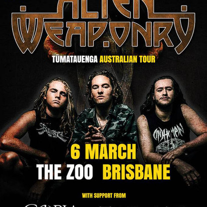 Alien Weaponry X Copia X Take My Soul @ The Zoo [Gig Report]