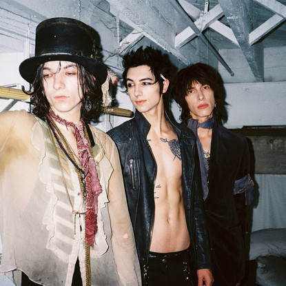Glam Rock Trio PALAYE ROYALE bring the heat back to Australia for East Coast Headline Tour