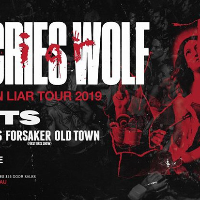 She Cries Wolf X Heists X Blood Knuckles X Forsaker [Gig Report]
