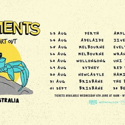 Movements USA hit Australia next week - Touring with Ambleside + Eat Your Heart Out
