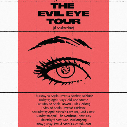"Pagan Announce ""The Evil Eye"" Tour for an Intimate and Intense April / May"