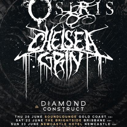 Born Of Osiris X Chelsea Grin Announce Huge Australian Co-Headline 2019 Tour + Diamond Construct